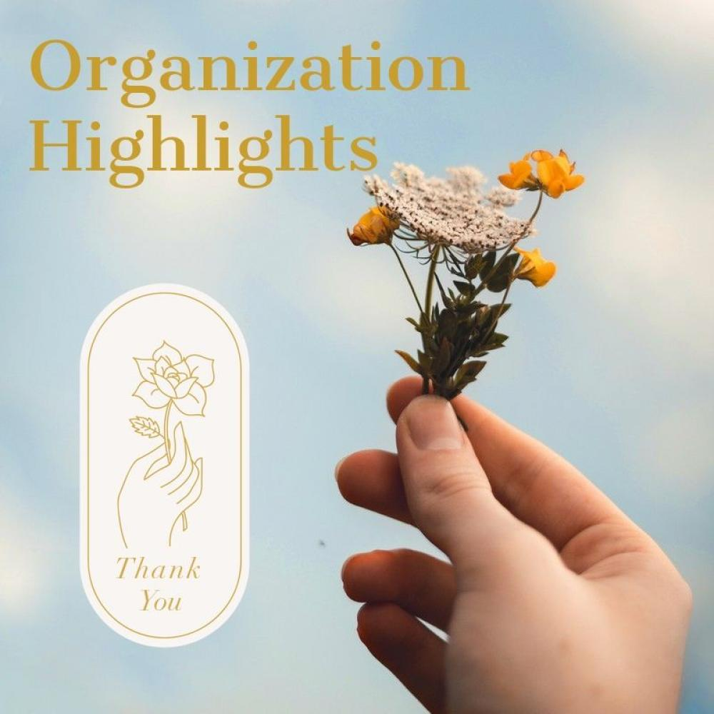 organization highlights