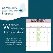 November Wellness Wednesdays for Educators